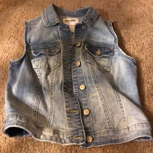 Denim vest junior XS
